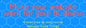 make your website work for your business