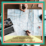 gold membership business cheerleading club