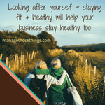 healthier you means healthier business