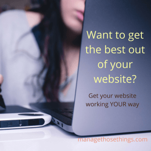 online business training and support programme for getting your website working