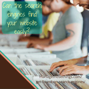 can search engines find your website easily