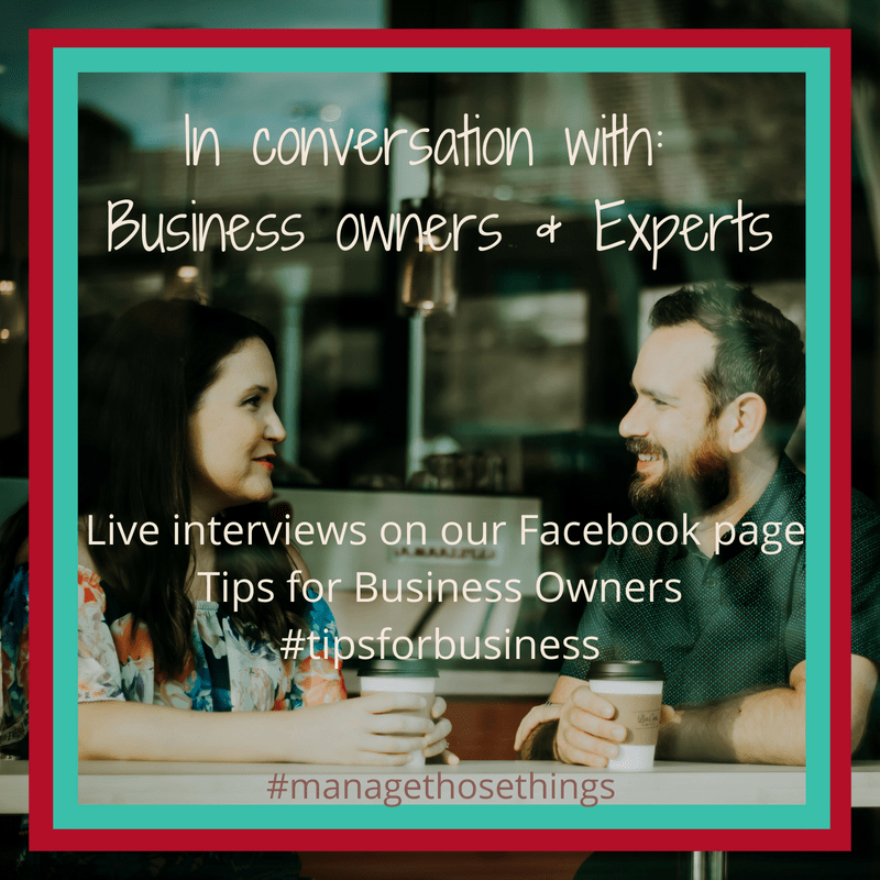 In conversation with business owners and experts