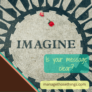 is your website message clear