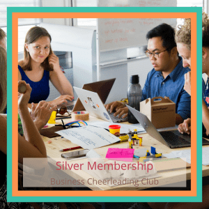 silver membership business cheerleading club
