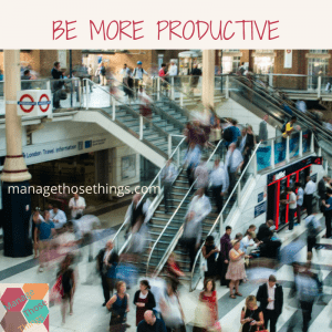 being more productive