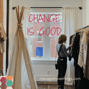 change is good for you and your business